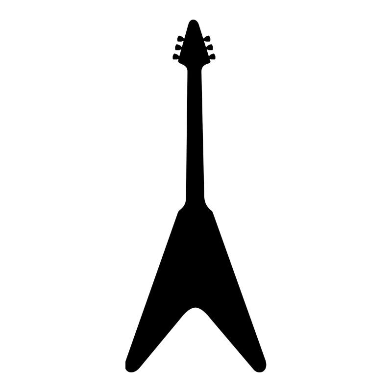 Beitragsbild: Luftgitarre Modell »Flying V«